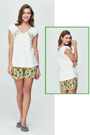 dagi-dgk11592-geometrik-desen-sort-pijama-takimi